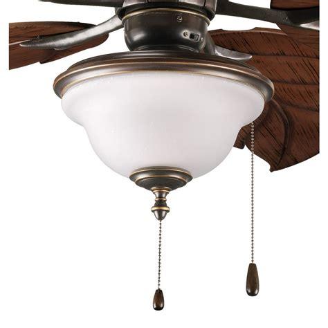 seeded glass ceiling fan frosted seeded glass ceiling fan light kit bronze progress