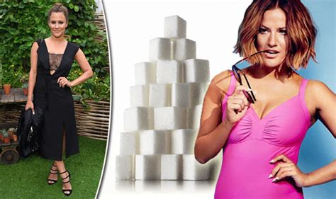 Caroline Flack Sugar Detox by Exclusive Caroline Flack Cutting Out Sugar Transformed