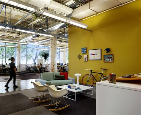 Facebook Office Interior | facebook s new cool office