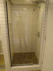 Shower Stall Ideas For A Small Bathroom by Ne Portland Basement Renovation After In Brief From The