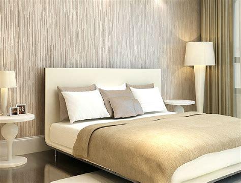 modern bedroom wallpaper modern minimalist bedroom with wood grain wallpaper new home