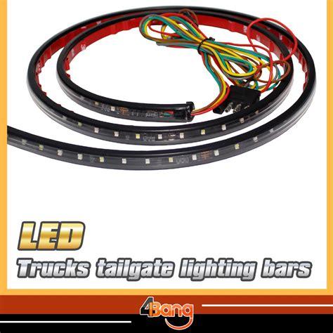60 led tailgate light bar with backup light function best sales 60 quot car tailgate white led light bar for