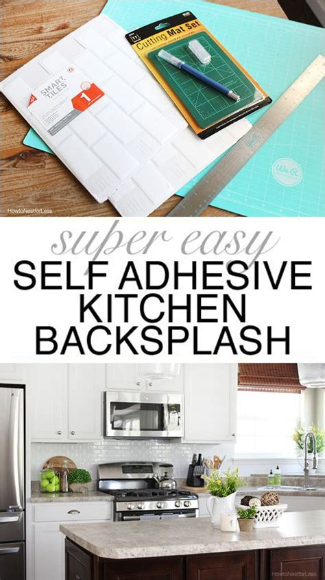 Self Adhesive Kitchen Backsplash Self Adhesive Kitchen Backsplash Follow Me Kitchen Backsplash And Instagram