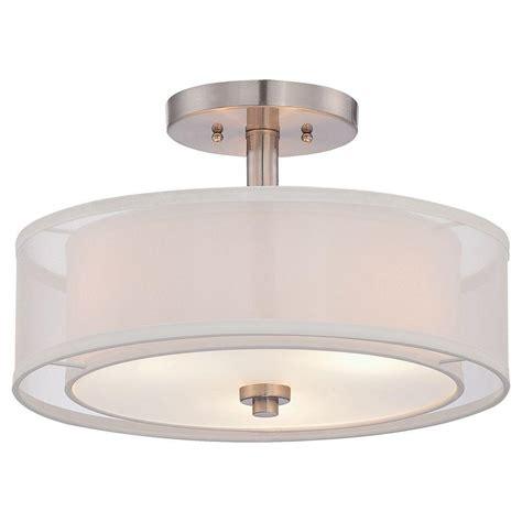 home depot drum light lighting design ideas home depot drum semi flush mount