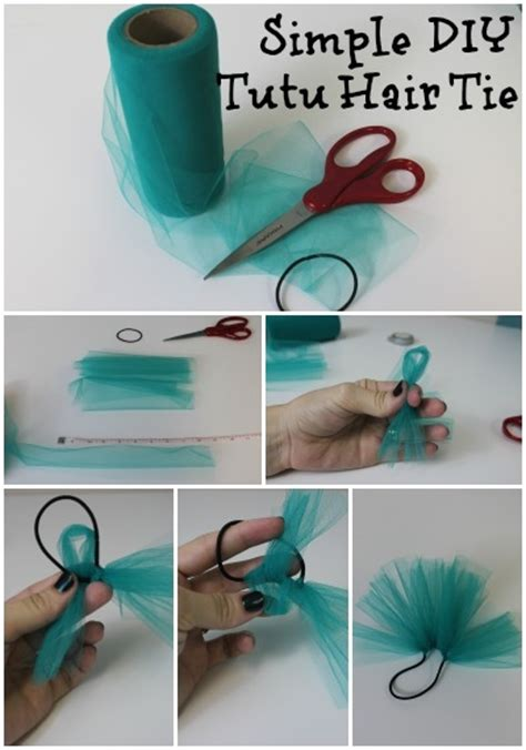 easy dance hair diy simple diy tutu hair tie pictures photos and images for