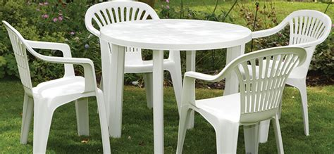 Patio Furniture Plastic by Clean Your Outdoor Furniture Groomed Home