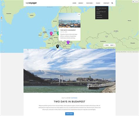 themes wordpress google maps travel wordpress themes free premium templates
