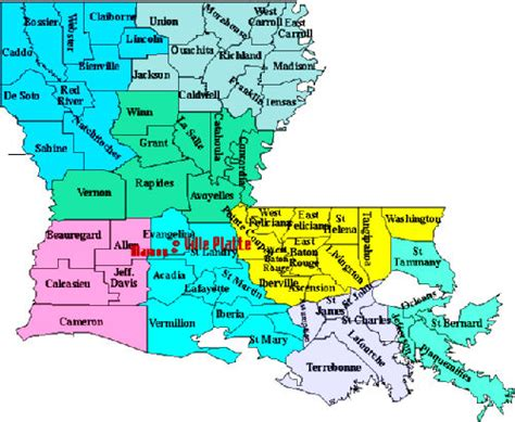 louisiana economy map led highlights state economic successes in 2010