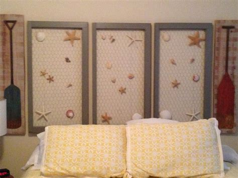 Chicken Wire Headboard by 17 Best Images About Starfish Decos On Napkin