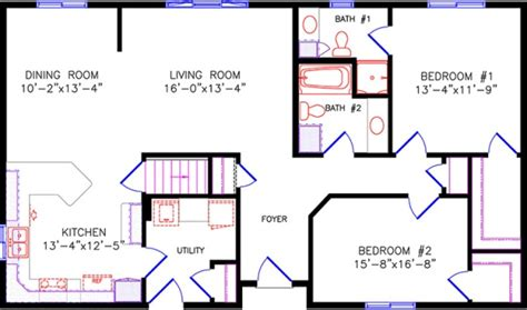 floor plans for entertaining