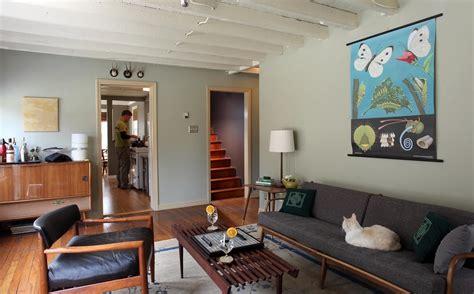 living room danish modern influenced flickr