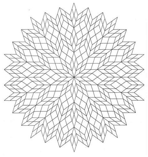 real geometric coloring pages mandalas para colorear pintar e imprimir