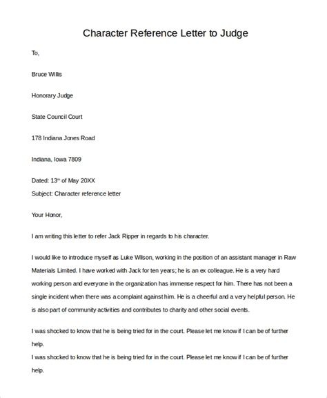 Letter To Judge Exle