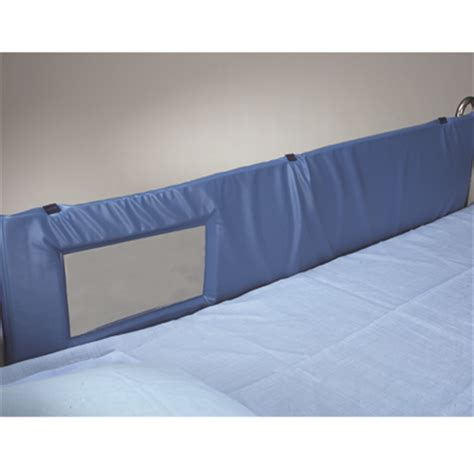 Vinyl Mattress Cover Safety by Thru View Vinyl Bed Rail Pads Bed Safety Especial Needs
