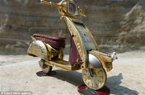 Sepeda Anak Uk 40 sepeda motor unik yang tercipta dari jam tangan