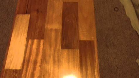 Brazilian cherry ( Jatoba) wood coffee table part 1   YouTube