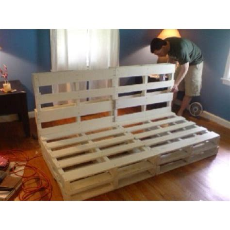 pallet sofa bed pallet couch frame very similar to a futon sofa bed i
