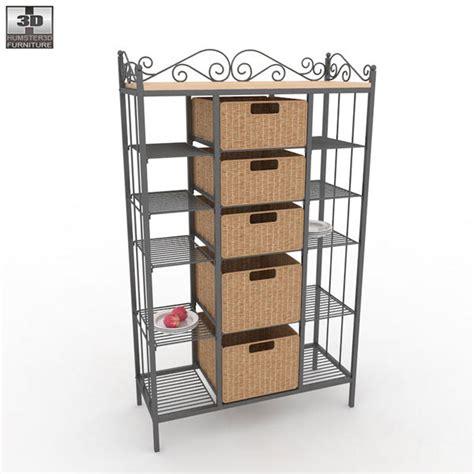 kitchen storage rack manilla kitchen storage rack 3d model humster3d