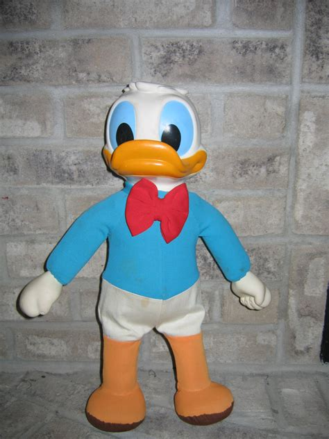 vintage donald doll vintage donald duck 17in rubber stuffed item