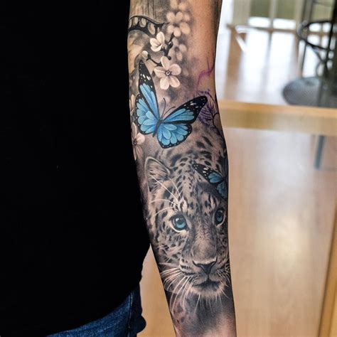 color tattoos on black pop of color in a black and white black and white