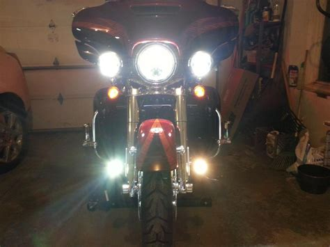 harley davidson driving lights fork mounted driving lights cd motolights or clearwater