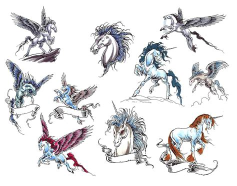 unicorn tattoos designs 5 unique unicorn design ideas