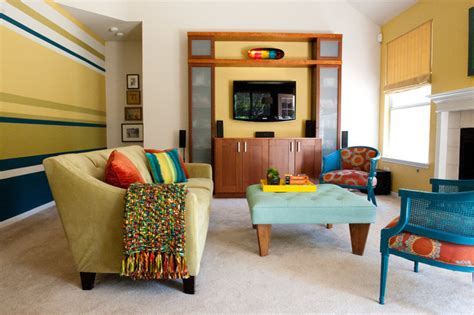 colorful family rooms colorful modern living room contemporary living room