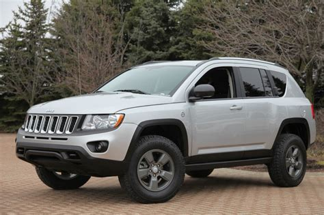 jeep compass lifted jeep compass canyon introduced by mopar autoevolution
