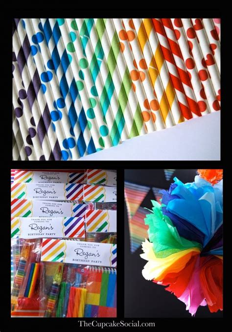 rainbow themed events 156 best images about kids rainbow party ideas on