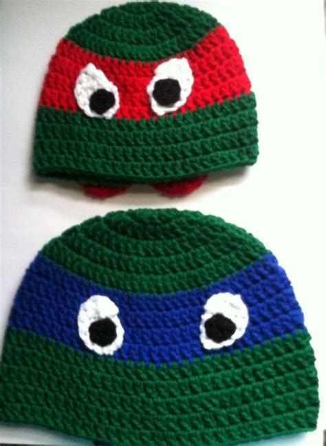 pattern for ninja turtle face ninja turtle hats look at what i made pinterest hats