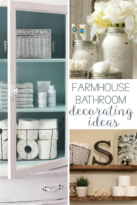 bathroom decor ideas diy 19 amazing diy farmhouse bathroom decorating ideas hunny