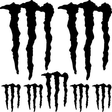 Monster Energy Wall Sticker by Wallstickers Folies Monster Energy Decal Stickers Kit