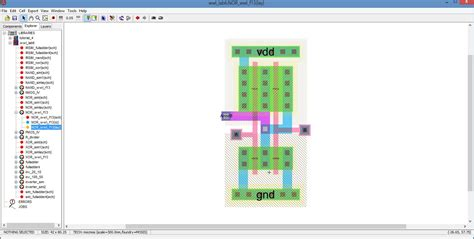 layout design of cmos nor gate cmos and gate layout www imgkid com the image kid has it