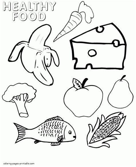 what is food coloring healthy and unhealthy food coloring pages gallery