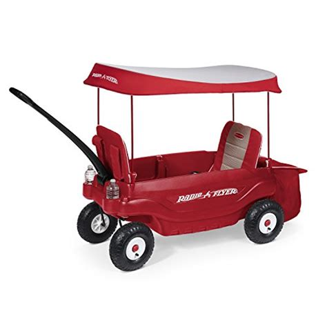 Radio Flyer The Ultimate Comfort Wagon Red Radio Flyer All Terrain Cargo Wagon Best Deals For Kids
