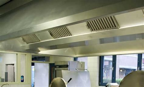 Stainless Steel for the Kitchen Extractor cooker hood sector