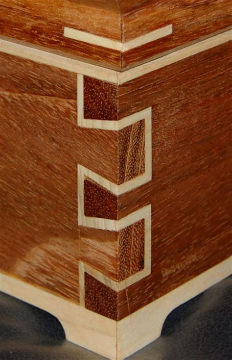 woodworking dovetail joints dovetail box by adam lumberjocks