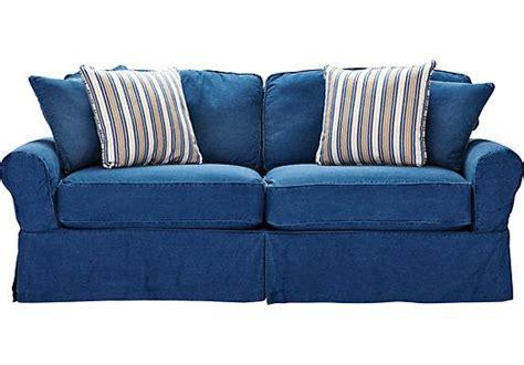 Cindy Crawford Denim Sofa Smalltowndjs Com Denim Sleeper Sofa