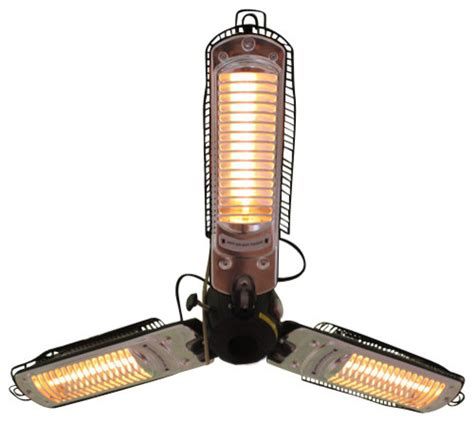 all pro patio heater umbrella infrared patio heater with 3 heating heads