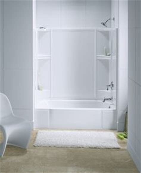 Sterling Shower Surrounds by Ensemble Tiled Shower Tub Combo From Sterling Bathroom
