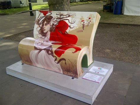 the bench book london s book bench art insider london