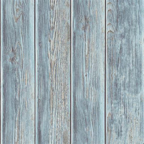 muriva wood panel faux effect wooden beam realistic mural rustic wood faux textured plank panel blue vinyl feature
