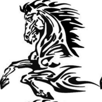 tattoo tribal cheval tattoo tatouage tribal cheval by shadoks24 the
