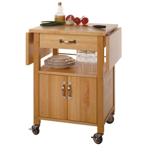 Butcher Block Portable Kitchen Island by Kitchen Islands Amp Carts Drop Leaf Kitchen Cart Ws 84920