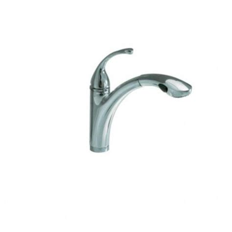 kohler single hole kitchen faucet kohler r10433 sd vs forte brushed nickel single hole or 3