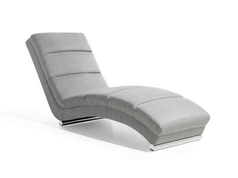 grey chaise lounge chair chaise longue lounge chair padded seat light grey ebay