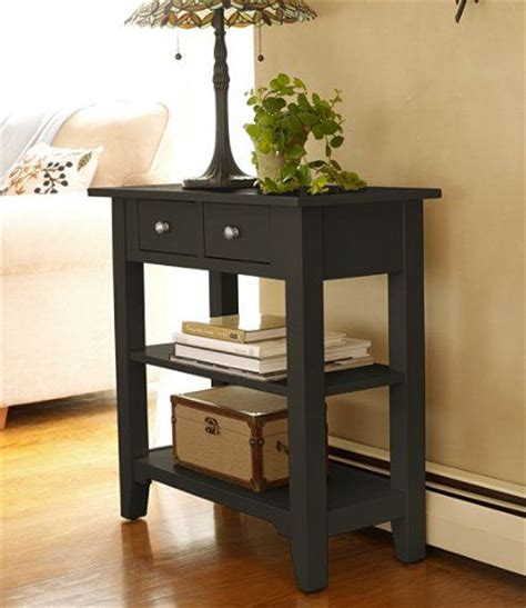 painted cottage storage console storage and organization