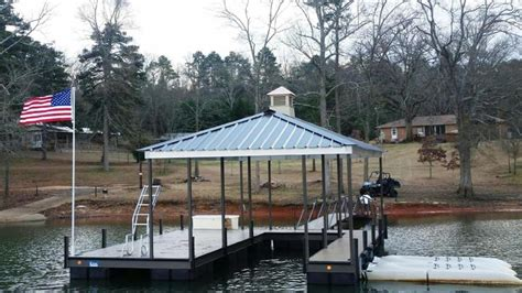 boat dock pole custom dock systems builds quality boat docks boat lifts