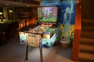 built this unusual pinball machine fish tank for the TV show