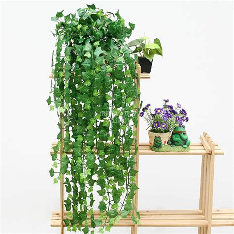Fake Plants For Home Decor boston ivy artificial fake leaf garland plant vine foliage